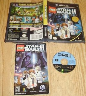 LEGO Star Wars II (The original Trilogy) Nintendo Gamecube Complete