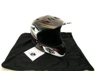NEW Fox Rampage Downhill Helmet   Grey / Red   X  Large (61 62cm)