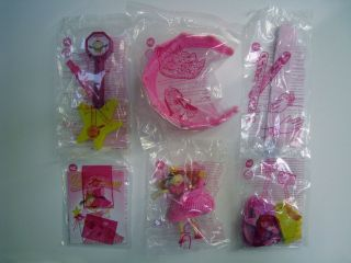 2012 Burger King PINKALICIOUS Toys Complete Set Of 6 NEW FACTORY