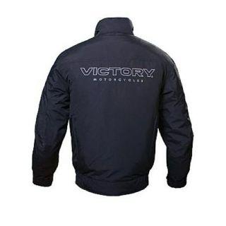 All New Mens Victory Black Motorcycle ASHTON Nylon Textile Jacket