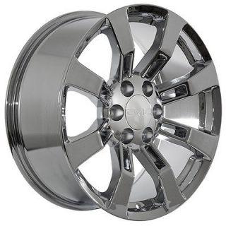 inch GMC truck SUV 2012 Yukon Denali XL 2012 Sierra chrome wheels rims