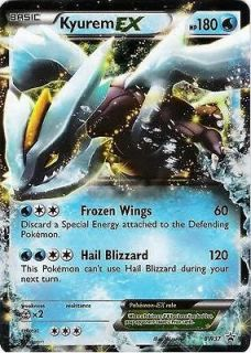 KYUREM EX NEXT DESTINIES BW37 TIN PROMO POKEMON CARD RARE HOLO! MINT!
