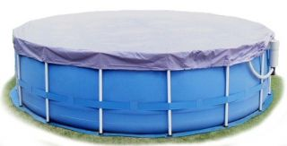 Summer Escapes 18 Ft Round Frame Pool Debris Cover