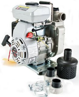 5HP Gas Trash Water Pump 1.5 NPT 97cc 4 Stroke Air Cooled Gasol