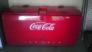 50s Coke Cooler/Westing​house WD20/Coca Cola Cooler/coke Machine