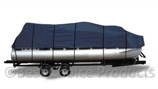 Pontoon Boat Cover 17 20 Weather Proof 600D UV Waterproof Boat Cover