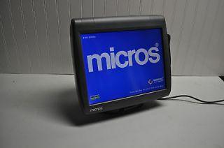 MICROS POS TERMINAL WS 5A RES, 3700, 9700, E7 W/ 90 DAY WARRANTY