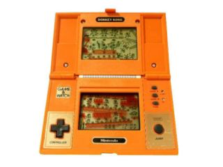 USED Nintendo Game & Watch DONKEY KONG JAPAN GW G and W