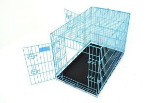 New Champion 42 Portable Folding Dog Pet Crate Cage Kennel 3 Door w