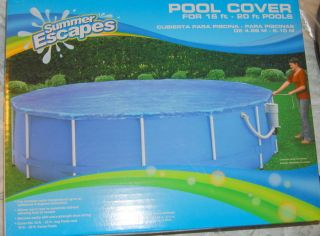 SUMMER ESCAPES POOL COVER FOR 16 20 ft ABOVE GROUND SWIMMING POOLS