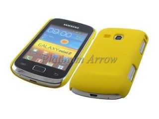 Plastic Back Cover + LCD Protector for Samsung Galaxy mini 2 S6500