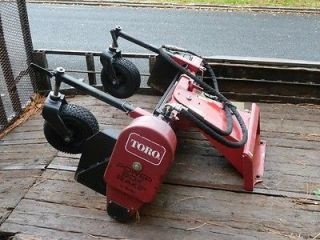 Toro Dingo Power Box (Harley) Rake Attachment * Very Good Condition *