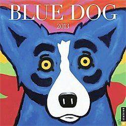 NEW Blue Dog 2013 Calendar (Wall)   Rodrigue, George (ART)