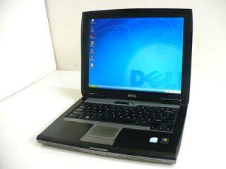 DELL LATITUDE D520 XP PRO LAPTOP   1.7 GHz 1GB 60GB COMBO WIFI   14
