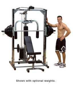 NEW Body Solid Powerline Smith Machine w/ Bench Lat & Low Row