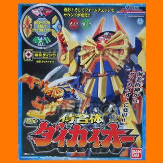 Power Rangers Samurai Megazord Claw Battlezord Shinkenger DAIKAIOH Ebi