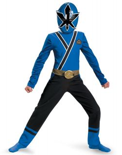 Power Ranger Blue Ranger Samurai Classic Child Halloween Costume S L