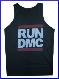 Tank Top RUN DMC KING OF ROCK RAP HIP HOP MUSIC SOFT XL THIN Cotton