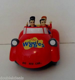 THE WIGGLES BIG RED CAR MUSICAL SINGING CAR   PROGRAMABLE PATH REPLAY