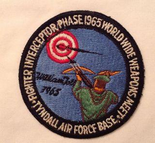 Rare Vietnam Era William Tell 1965 Air Force Air to Air Competition