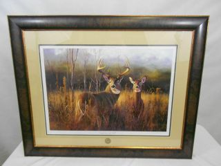 NWTF Suspicions of Fall Signed Print by Hayden Lambson