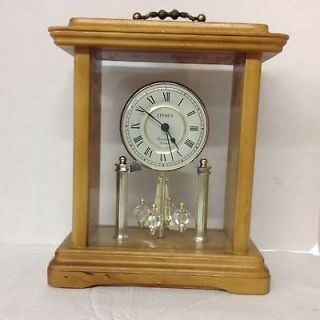 Linden Westminster Chime Battery Clock