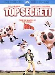 Top Secret DVD, 2002, Checkpoint