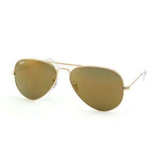 Ray Ban Aviator Gold Mirror Sunglasses RB 3025 W3276 58