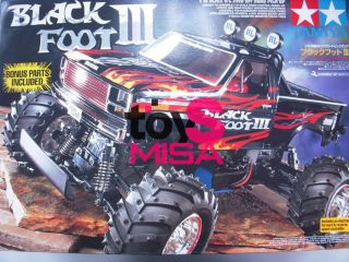 Tamiya 58498 1/10 RC Blackfoot Off Road III W/ESC + Bonus parts