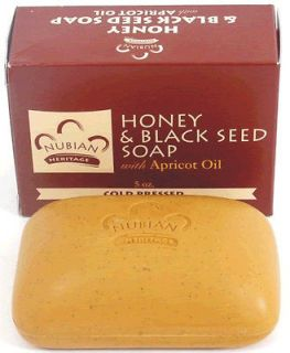 Nubian Heritage Honey & Black Seed Apricot Oil Soap