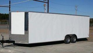 Cargo Auto Car Hauler Motorcycle 24 8.5 x 24 RACE READY OPTIONS