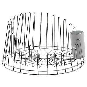 stainless steel dish drainer in Racks & Holders