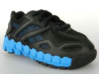 MINIZIG SONIC ZIGS ZIG NEW Toddlers Infant Baby Boys Shoes Black Blue