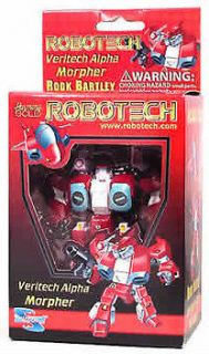 SUPER DEFORMED ALPHA Veritech Alpha Morphers (Rook Bartley RED
