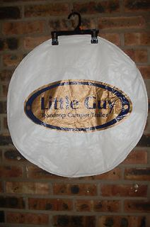 SPARE TIRE COVER W/ LITTLE GUY LOGO 12 13 TEAR DROP CAMPER/TRLR TIRE
