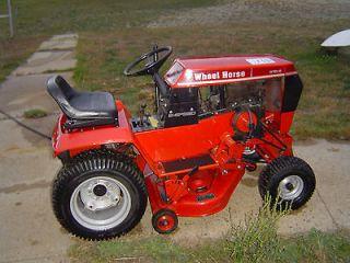 310 8 Riding Working Lawn Garden Tractor Mower 8 Speed 10 Hp Engine