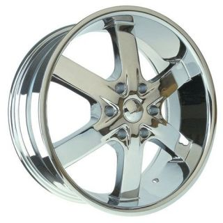 28 inch U2 55 Chrome Wheels Rims 6x5.5 6x139.7 +25