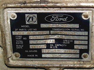rebuilt transmissions ford