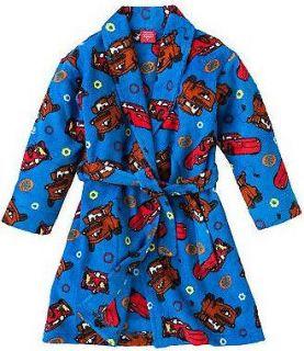 NWT NEW BOYS Disney/Pixar Cars MATER LIGHTING McQUEEN Fleece Robe 2T