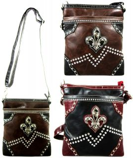 fleur de lis purses in Handbags & Purses