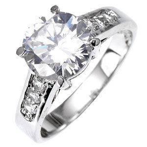 & Wedding  Engagement Rings  CZ, Moissanite & Simulated
