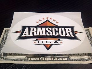 Armscor Rock Island Armory Sticker / Decal Vinyl BRAND NEW 1911 .45