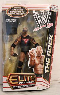 The Rock WWE Elite 16 Mattel action figure MOC