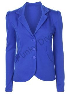 womens royal blue blazer
