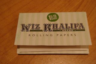 Wiz Khalifa Rolling Papers Hemp New 33 papers 2 packs rare Diamond