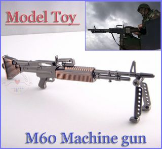 military General Purpose Machine Gun M60 Alloy Model Toy Gift New