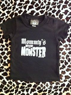 ROCKABILLY KID CARTEL T SHIRT BLACK MOMMYS LITTLE MONSTER PUNK ROCK