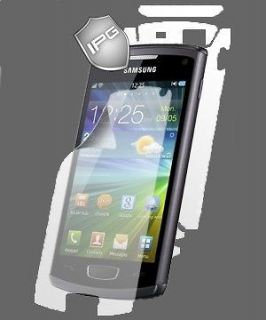 IPG Samsung Wave 3 S8600 Invisible Guard Shield FULL BODY Cover Phone