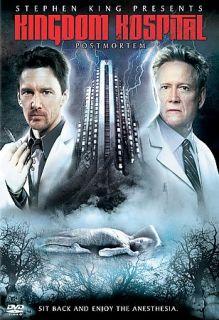 Stephen Kings Kingdom Hospital   Post Mortem DVD, 2005, 2 Disc Set