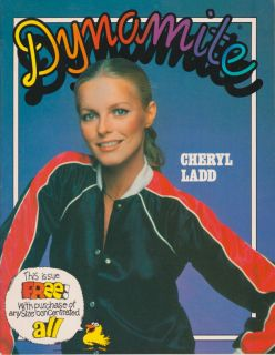 DYNAMITE #49 CHERYL LADD Charlies Angels 1978 RARE ALL DETERGENT